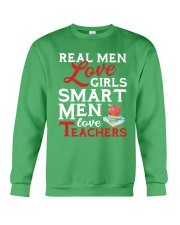 Smart Men Love Teachers Crewneck Sweatshirt tile