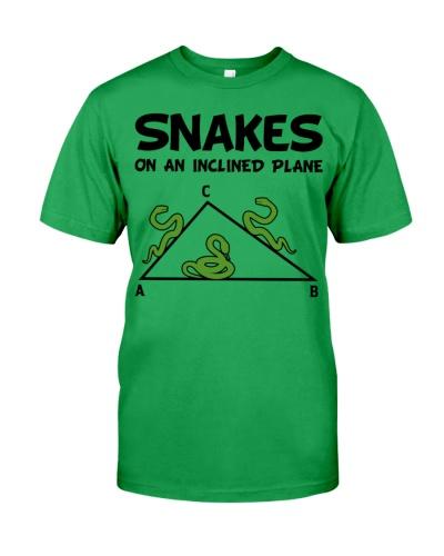 Math Teacher - Snakes On An Inclined Plane