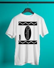 Crayon - White Classic T-Shirt lifestyle-mens-crewneck-front-3
