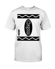 Crayon - White Premium Fit Mens Tee thumbnail