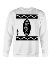 Crayon - White Crewneck Sweatshirt thumbnail