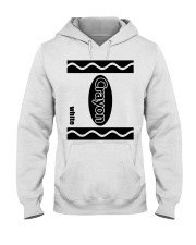 Crayon - White Hooded Sweatshirt thumbnail