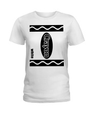 Crayon - White Ladies T-Shirt thumbnail