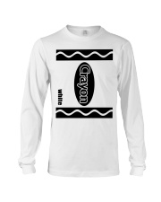 Crayon - White Long Sleeve Tee thumbnail
