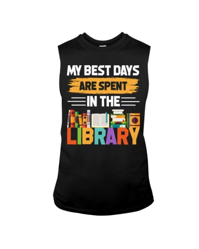 Librarian - Best Days are spent in The Library