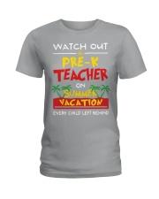 Pre-K Teacher - Summer Ladies T-Shirt thumbnail