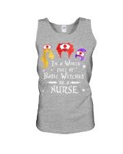 Nurse Halloween Unisex Tank thumbnail