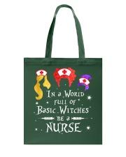 Nurse Halloween Tote Bag thumbnail
