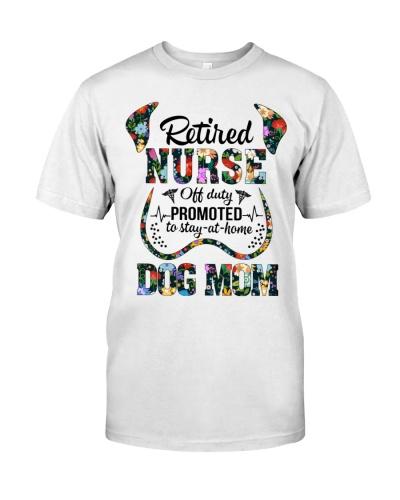 Retired Nurse - Off Duty - Dog Mom
