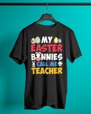 My Easter Bunnies Call Me Teacher Classic T-Shirt lifestyle-mens-crewneck-front-3
