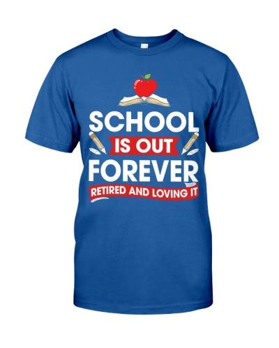 Retired Teacher - School is Out