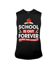 Retired Teacher - School is Out Sleeveless Tee thumbnail