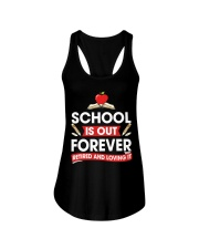 Retired Teacher - School is Out Ladies Flowy Tank thumbnail