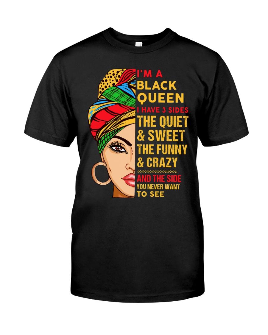 I'm a Black Queen Classic T-Shirt