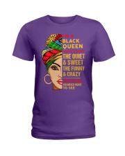 I'm a Black Queen Ladies T-Shirt thumbnail