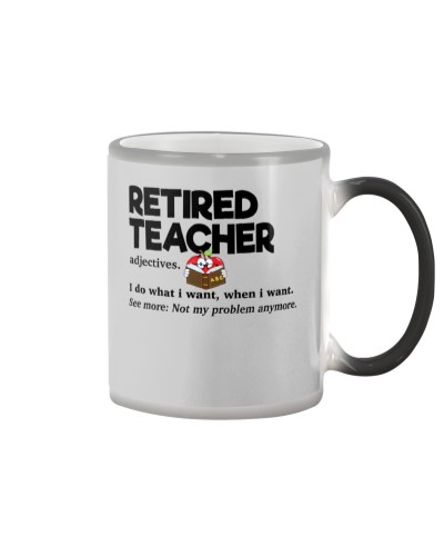 Retired Teacher - Adjectives