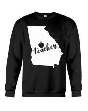 Georgia Teacher - Map Crewneck Sweatshirt thumbnail