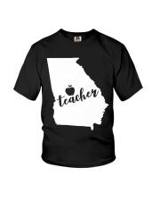 Georgia Teacher - Map Youth T-Shirt thumbnail