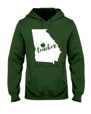 Georgia Teacher - Map Hooded Sweatshirt thumbnail