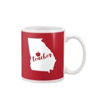 Georgia Teacher - Map Mug thumbnail