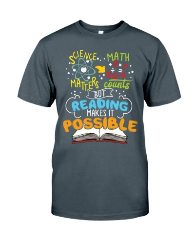 Librarian - Reading Makes It Possible