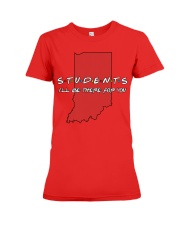 Students Be There - Indiana Premium Fit Ladies Tee thumbnail
