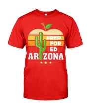 Arizona Teacher - Red for Ed Classic T-Shirt front