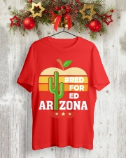 Arizona Teacher - Red for Ed Classic T-Shirt lifestyle-holiday-crewneck-front-2
