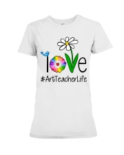Love Art Teacher Life Premium Fit Ladies Tee thumbnail