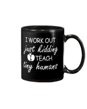 Teacher Work Out Mug thumbnail