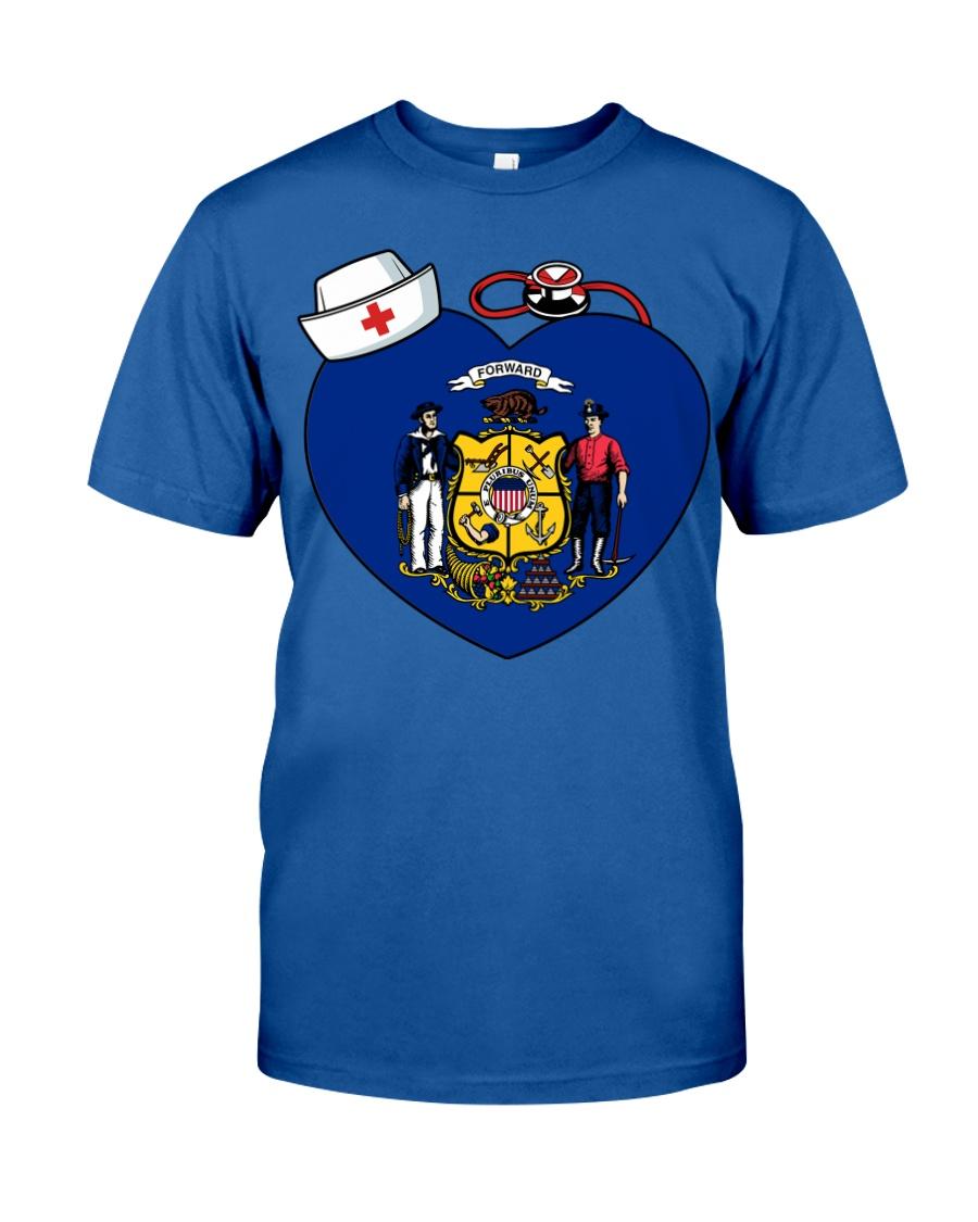 Nurse - National Nurse Week for Wisconsin Classic T-Shirt
