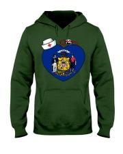 Nurse - National Nurse Week for Wisconsin Hooded Sweatshirt thumbnail