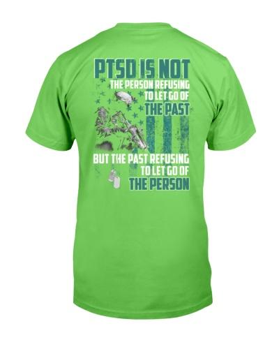 Veteran - PTSD - Refusing To Let Go Of The Past