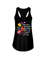 Teacher - Your Life is Worth my time Ladies Flowy Tank thumbnail