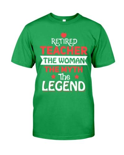 Retired Teacher - The Woman - The Legend