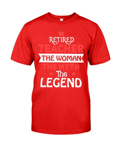 Retired Teacher - The Woman - The Legend