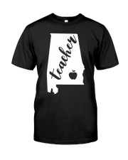 Alabama Teacher - Map Premium Fit Mens Tee thumbnail