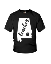 Alabama Teacher - Map Youth T-Shirt thumbnail