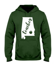 Alabama Teacher - Map Hooded Sweatshirt thumbnail