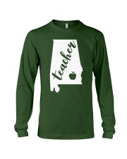 Alabama Teacher - Map Long Sleeve Tee thumbnail