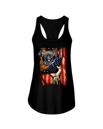 Firefighter - American Flag