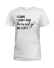 Nurse Anxiety Ladies T-Shirt thumbnail