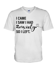 Nurse Anxiety V-Neck T-Shirt tile