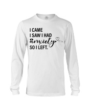 Nurse Anxiety Long Sleeve Tee thumbnail