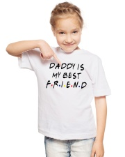 Daddy is My Best Friend Youth T-Shirt lifestyle-youth-tshirt-front-2