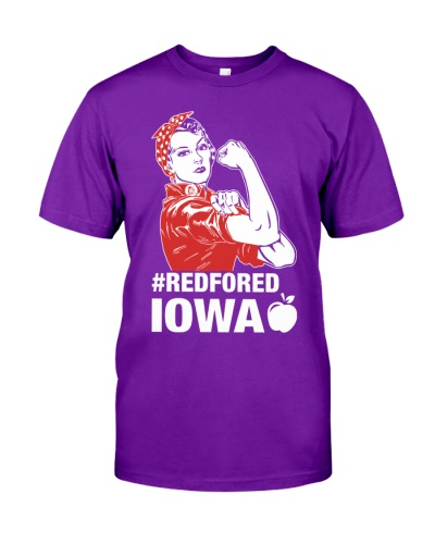 RED for ED - Teacher Strong Iowa
