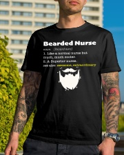 Bearded Nurse Classic T-Shirt lifestyle-mens-crewneck-front-8