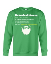 Bearded Nurse Crewneck Sweatshirt thumbnail