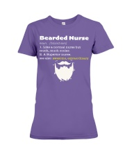 Bearded Nurse Premium Fit Ladies Tee thumbnail