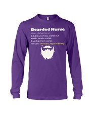 Bearded Nurse Long Sleeve Tee thumbnail